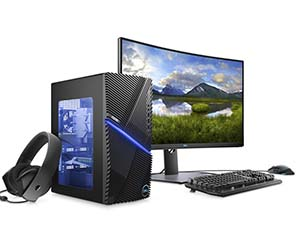 Compact, expandable Dell 5090 gaming desktop ships