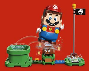 Lego, Nintendo partner on new experiences