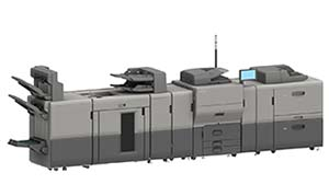 Ricoh's new Pro C5300 supports high-end finishing