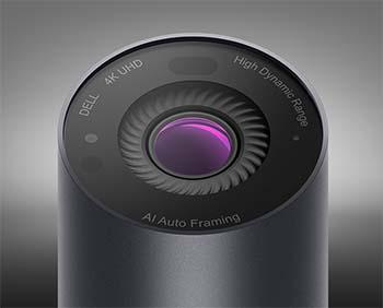 Dell debuts intelligent 4K webcam